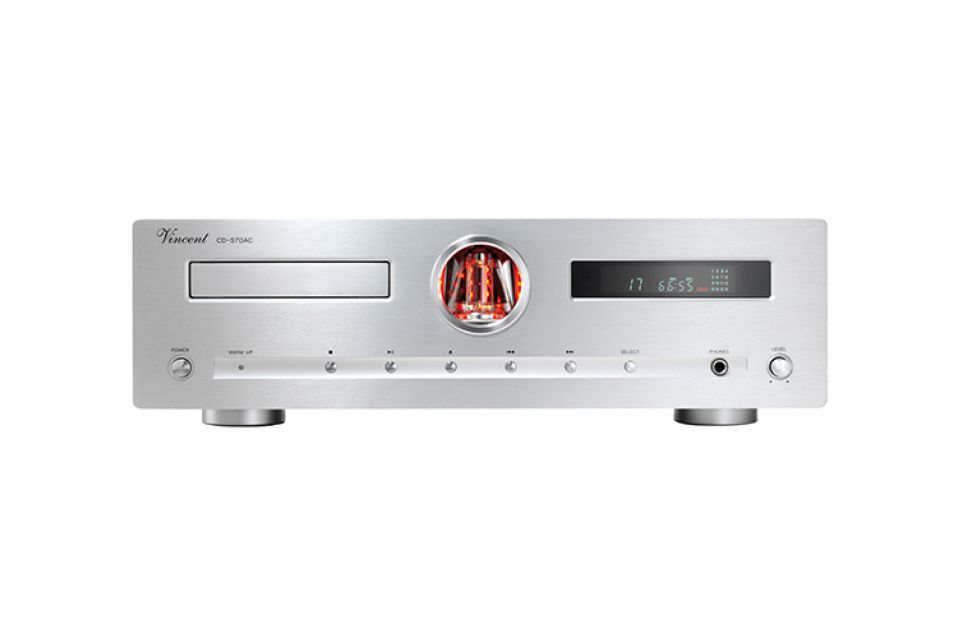 Vincent Cd-S7 Dac Silver