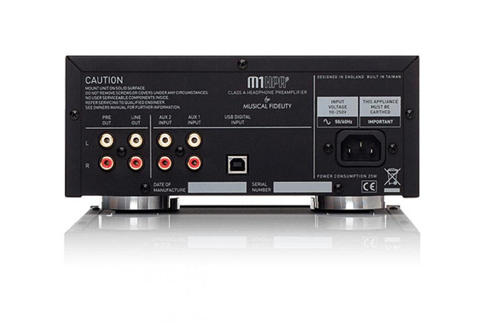Musical Fidelity M1Hpap Silver